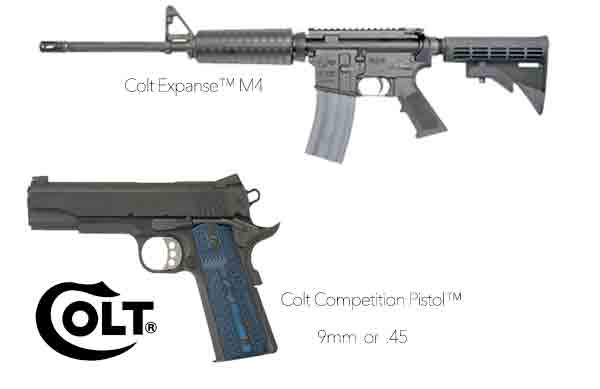 Colt Introduces Competition Pistols & AR-15