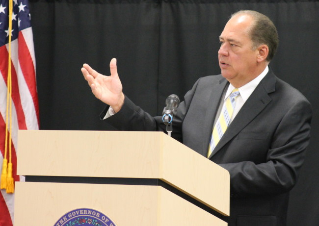 West Virginia Governor Earl Ray Tomblin