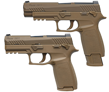 U.S. Army Contract Awarded to Sig Sauer for New Modular Handgun System (MHS)